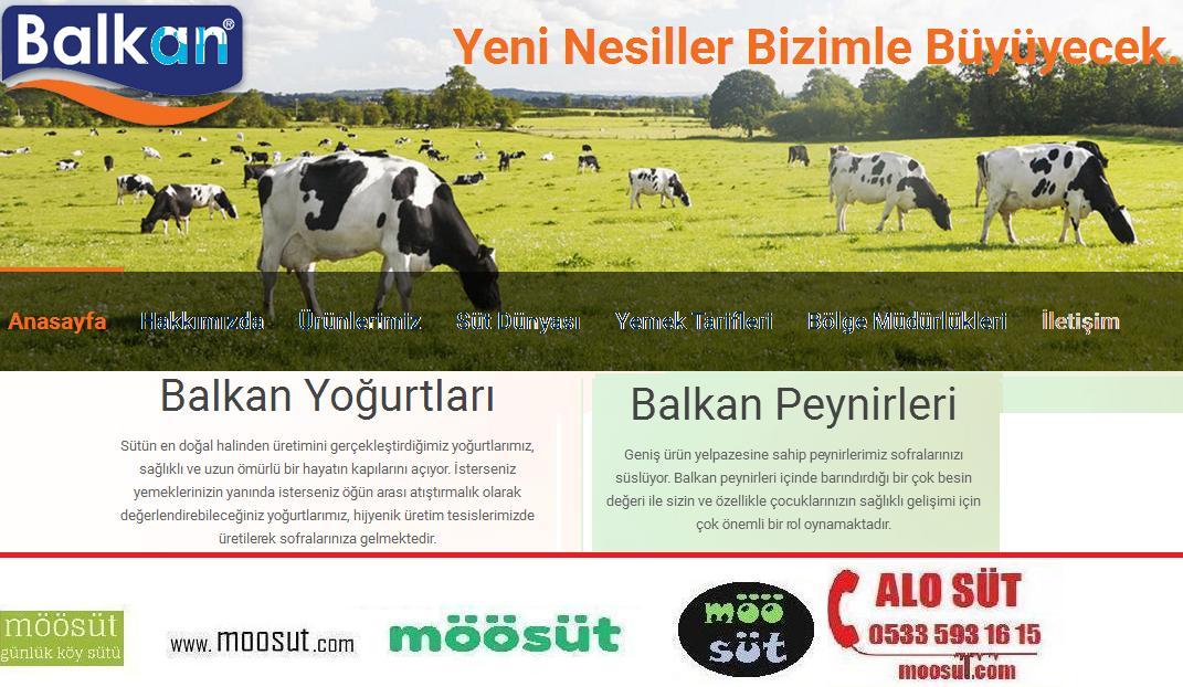 Balkan Süt Ürünleri